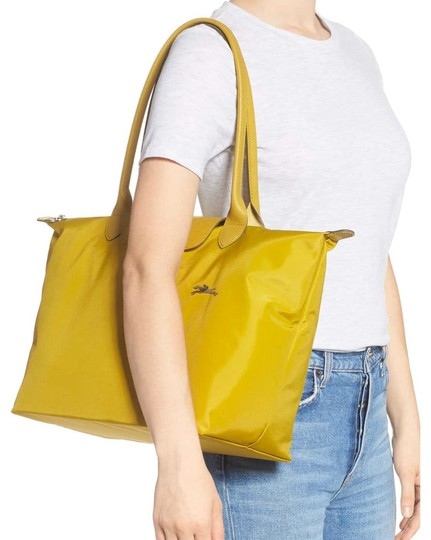 Longchamp Tote in yellow Image 5