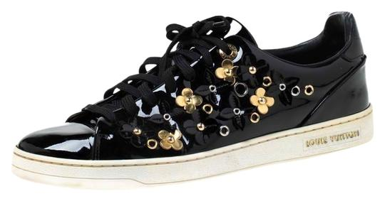 Preload https://img-static.tradesy.com/item/26331211/louis-vuitton-black-patent-leather-frontrow-blossom-floral-embellished-low-top-sneakers-size-eu-40-a-0-3-540-540.jpg