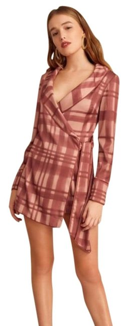 Preload https://img-static.tradesy.com/item/26331247/cmeo-collective-pink-simple-things-check-playsuit-romperjumpsuit-0-3-650-650.jpg