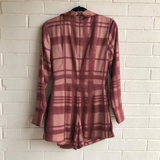 C/MEO Collective Check Wrap Playsuit Dress Image 2