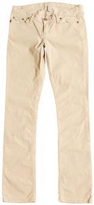 Abercrombie & Fitch Straight Pants Beige