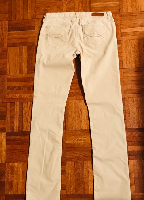 Abercrombie & Fitch Straight Pants Beige Image 1