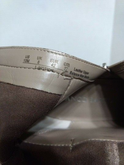 Franco Sarto Leather Suede Side Zip Casual Classic Brown Boots Image 5