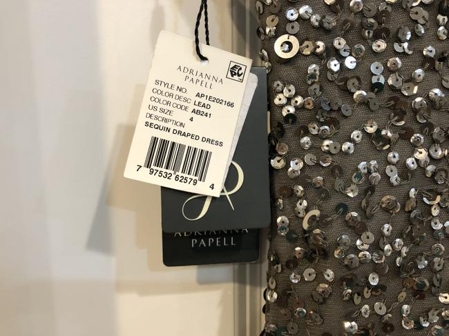 Adrianna Papell Sequin Gown Dress Image 4