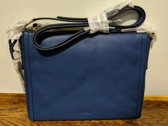 Fossil Vintage Leather Cross Body Bag Image 4