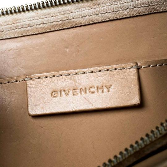 Givenchy Monogram Canvas Leather Beige Clutch Image 6