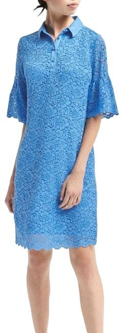 Preload https://img-static.tradesy.com/item/26331445/banana-republic-blue-flutter-sleeve-collared-mid-length-workoffice-dress-size-petite-2-xs-0-2-650-650.jpg