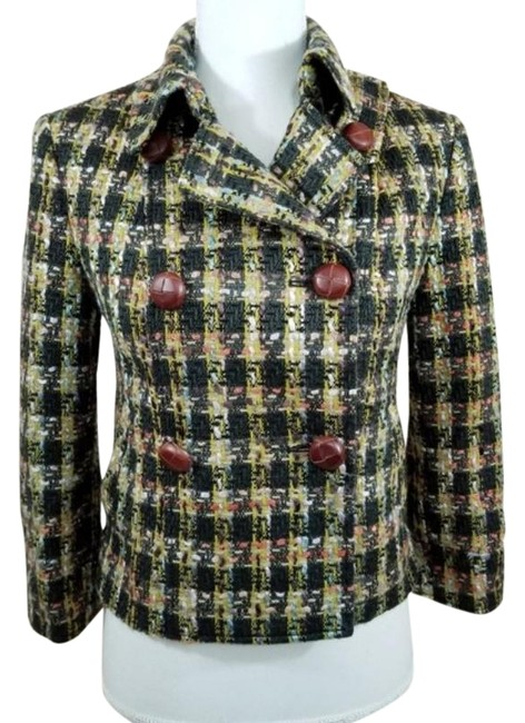 Preload https://img-static.tradesy.com/item/26331488/tweed-look-jacket-coat-size-4-s-0-2-650-650.jpg