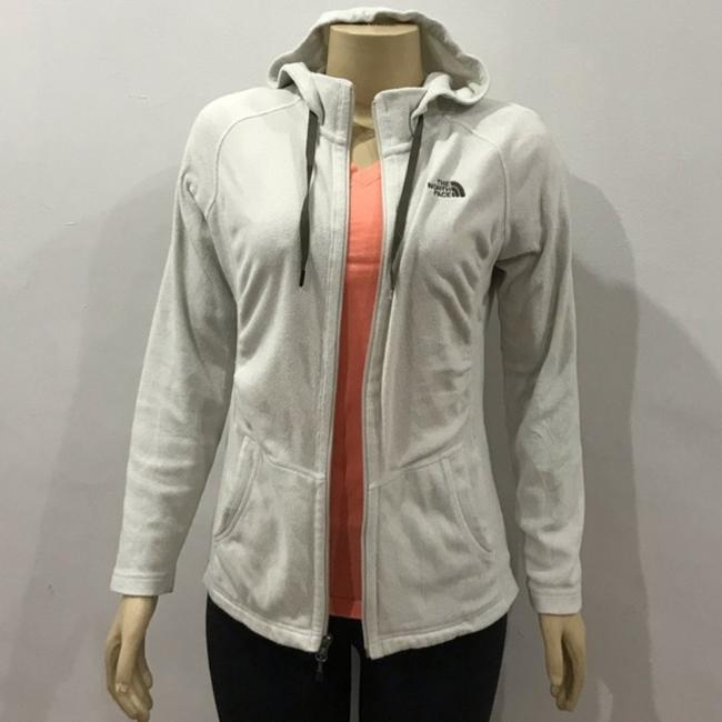 The North Face White Jacket Image 3
