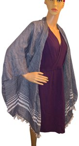 Tommy Bahama NWT linen/cotton blend cape style wrap