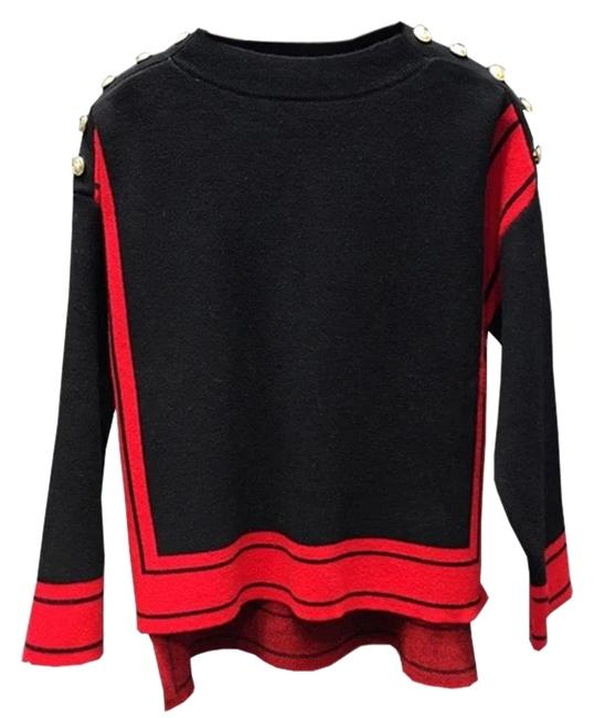 Item - 2018 Style Black and Red Sweater