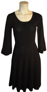 Chelsea & Theodore 3/4 Sleeve Knit Stretchy Sweater Onm001 Dress