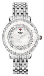 Michele Cloette Stainless Steel Mother of Pearl Diamond MWW20E000001
