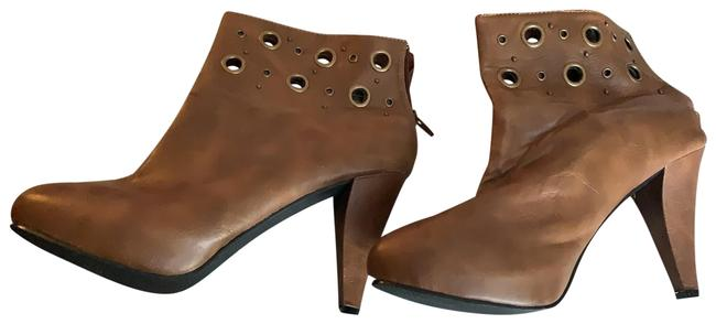 Item - Rusted Brown and Gold Boots/Booties Size US 9 Regular (M, B)