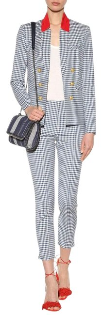 Item - Blue Gingham Pant Suit Size 2 (XS)