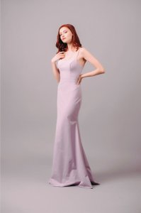 BHLDN Gown Evening Strappy Scoop Back Dress