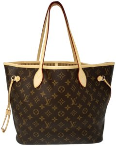 Louis Vuitton Neverfull Monogram Lv 2019 Tote in brown,