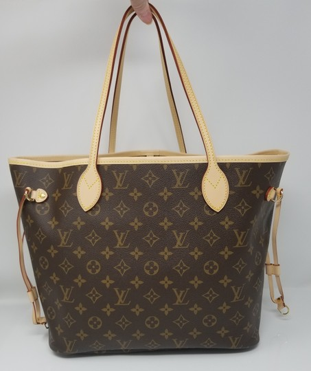 Louis Vuitton Neverfull Monogram Lv 2019 Tote in brown, Image 11