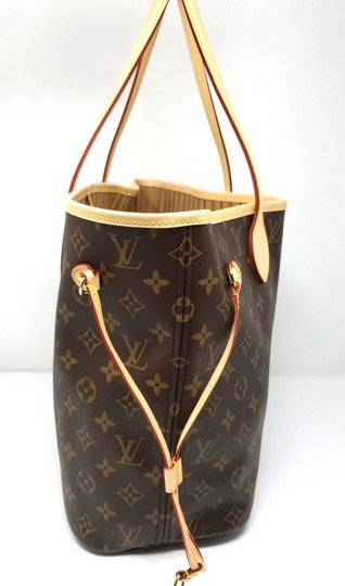 Louis Vuitton Neverfull Monogram Lv 2019 Tote in brown, Image 3