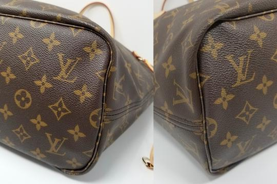 Louis Vuitton Neverfull Monogram Lv 2019 Tote in brown, Image 4