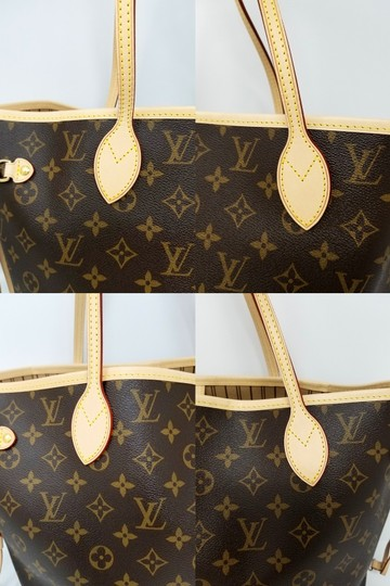 Louis Vuitton Neverfull Monogram Lv 2019 Tote in brown, Image 5