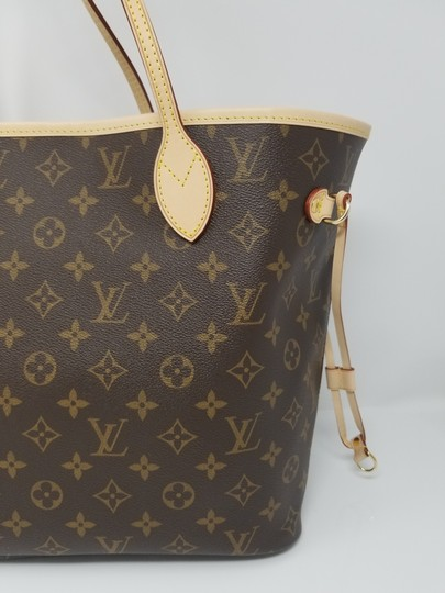 Louis Vuitton Neverfull Monogram Lv 2019 Tote in brown, Image 8