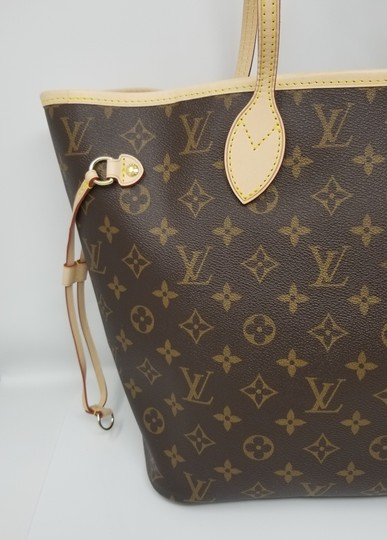 Louis Vuitton Neverfull Monogram Lv 2019 Tote in brown, Image 9
