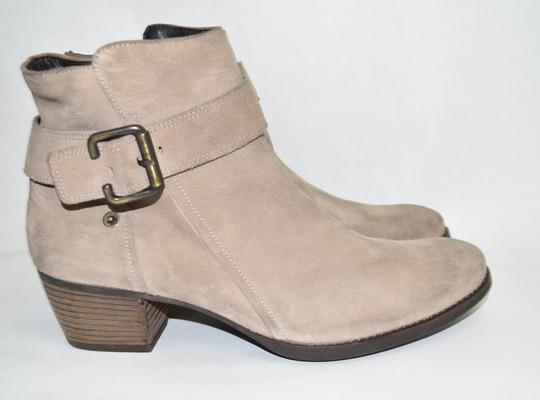 Paul Green Moto Platform TAN BROWN Boots Image 2