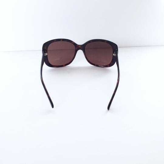 Chanel Chanel 5183 model tortoise shell CC logo sunglasses with case Image 4