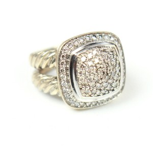 David Yurman Albion Petit Diamond Ring - Size 4