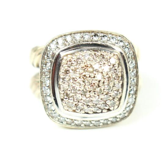 David Yurman Albion Petit Diamond Ring - Size 4 Image 1