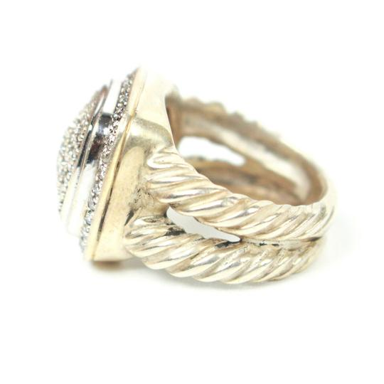 David Yurman Albion Petit Diamond Ring - Size 4 Image 3