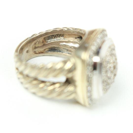 David Yurman Albion Petit Diamond Ring - Size 4 Image 4