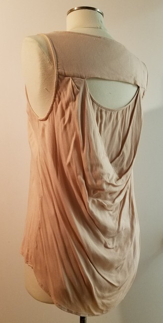 Ella Moss Sleeveless Pastel Open Back High-low Top pale pink Image 1
