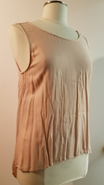 Ella Moss Sleeveless Pastel Open Back High-low Top pale pink Image 2