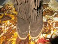 mich Boho Hippy Vintage Style Suede brown Boots Image 9