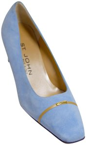 St. John New Baby Blue Pumps