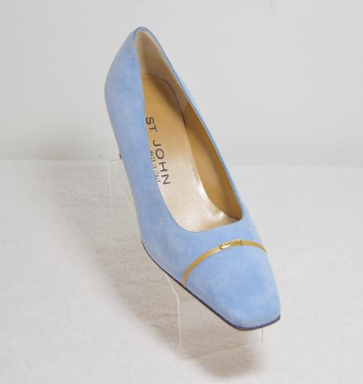 St. John New Baby Blue Pumps Image 1