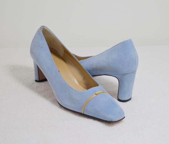 St. John New Baby Blue Pumps Image 2
