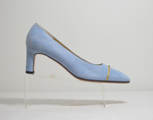 St. John New Baby Blue Pumps Image 3