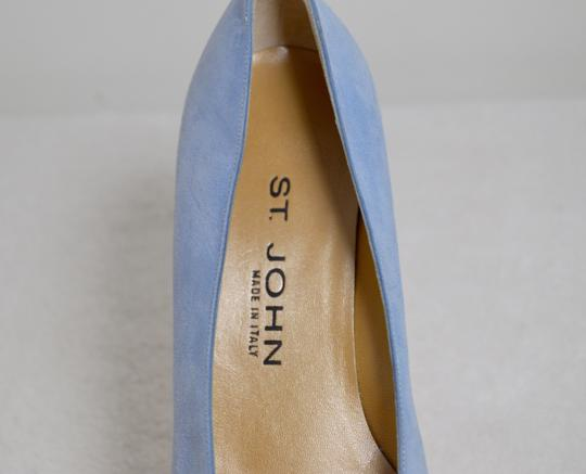 St. John New Baby Blue Pumps Image 4