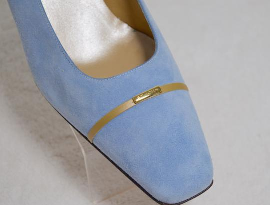 St. John New Baby Blue Pumps Image 5