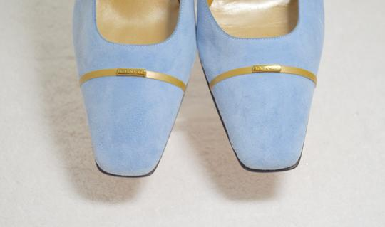 St. John New Baby Blue Pumps Image 6