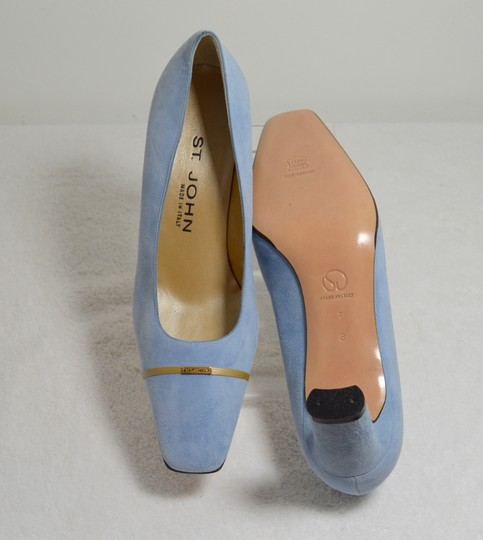 St. John New Baby Blue Pumps Image 8
