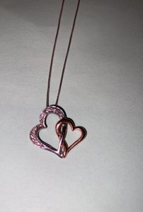 Unknown Two Heart Pendant