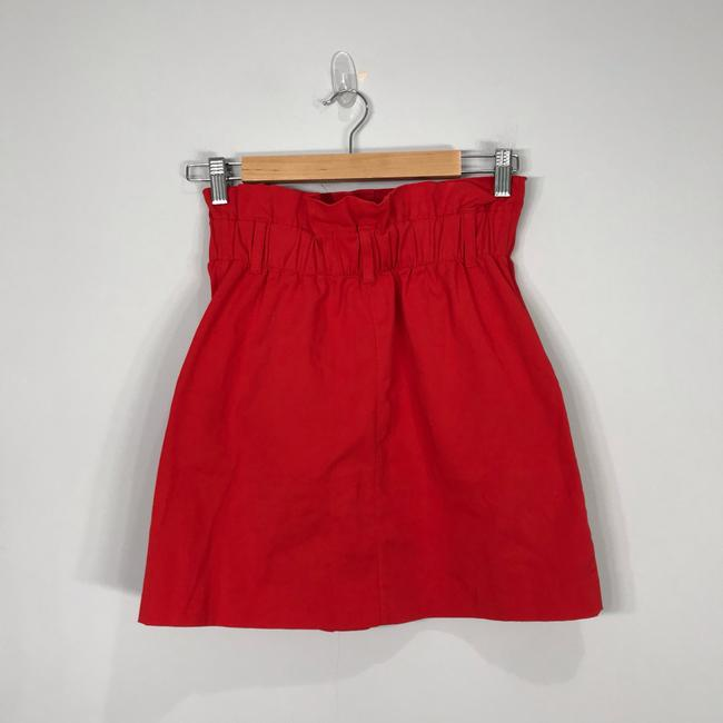 Zara Mini Skirt red Image 3