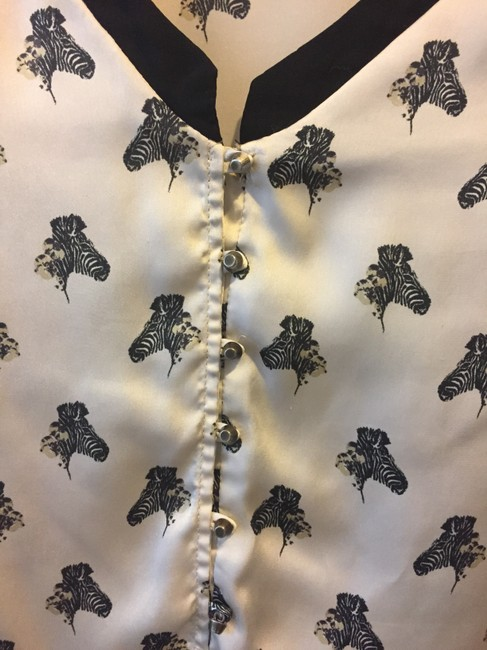 Zara Button Down Shirt Ivory Image 10