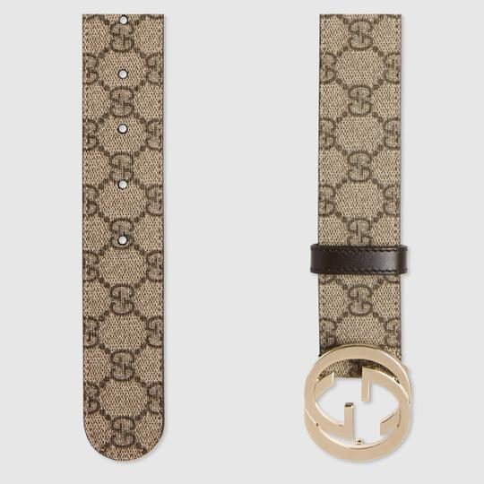 Gucci GG Supreme Belt With G Buckle Size 85 Image 1