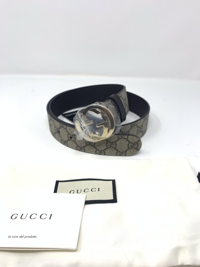 Gucci GG Supreme Belt With G Buckle Size 85 Image 3