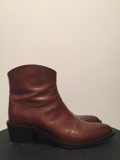 Sartore Western Cowgirl Leather Chic Brown Boots Image 1